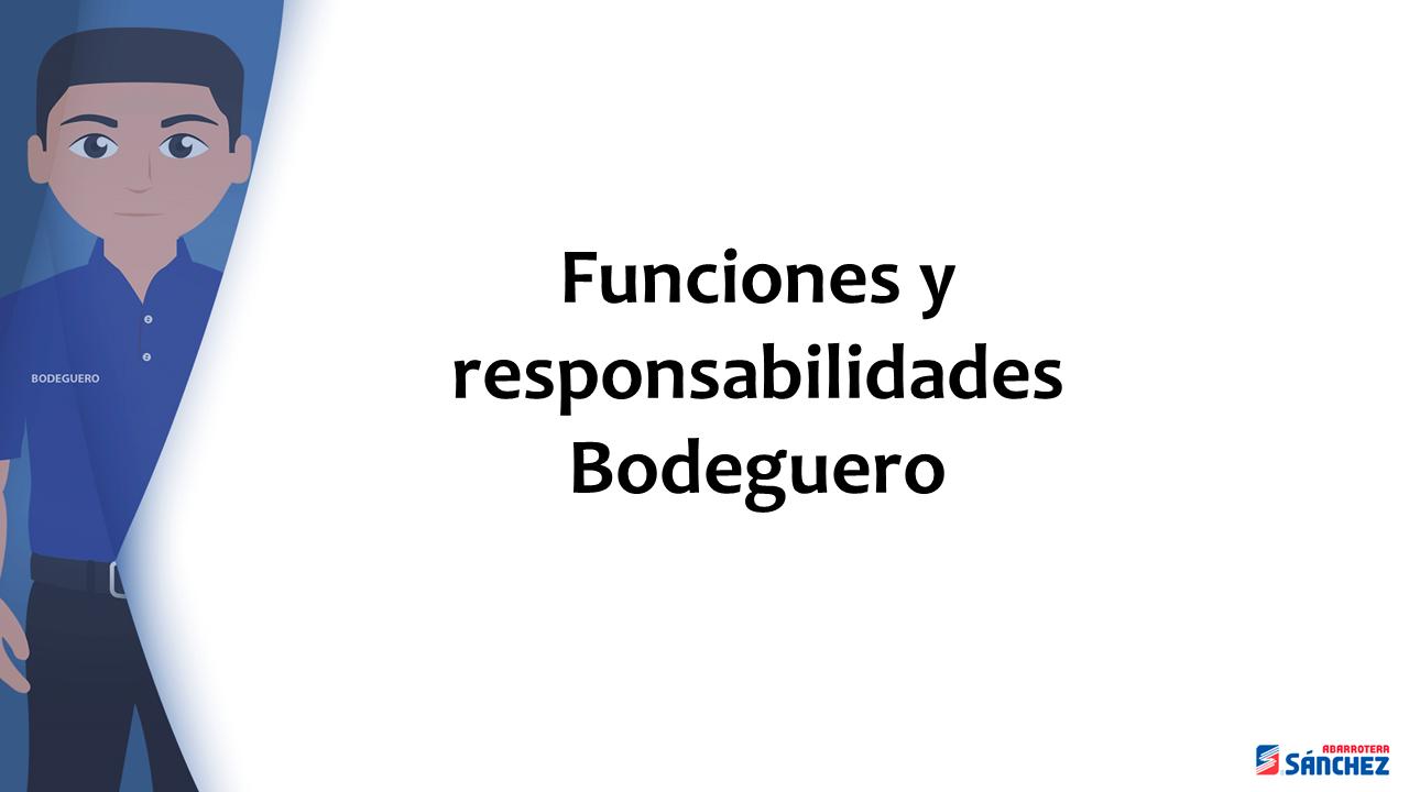 Inducción Bodeguero