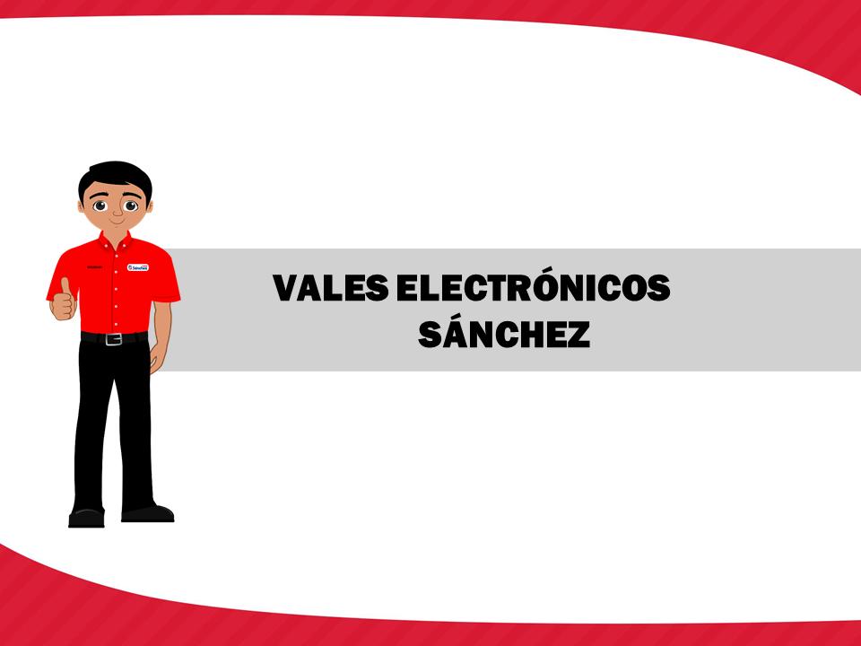Vales Electrónicos Sánchez