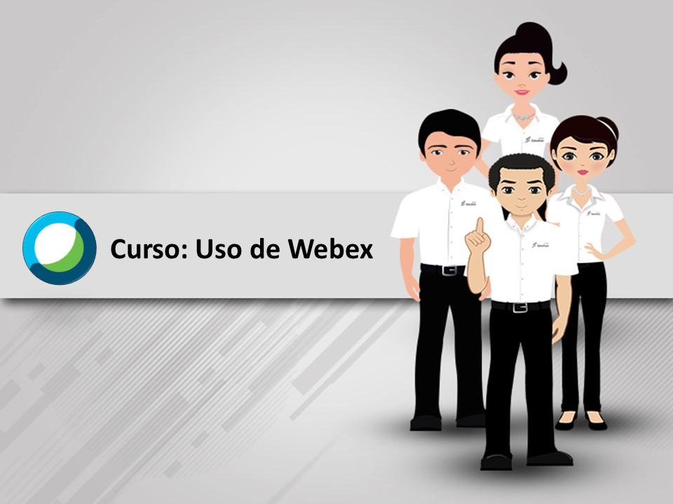 Uso de WEBEX